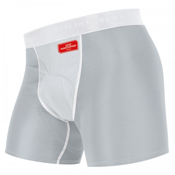 GORE Windstopper Panty with Pad light grey-titanium
