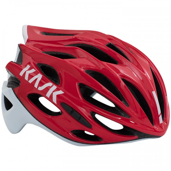 KASK Mojito X 2019 Road Bike Helmet white - red