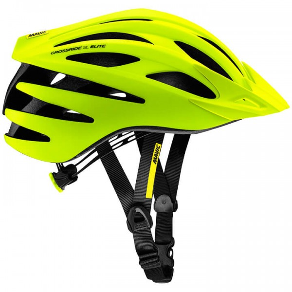 MAVIC Crossride SL Elite 2019 MTB Helmet neon yellow - black