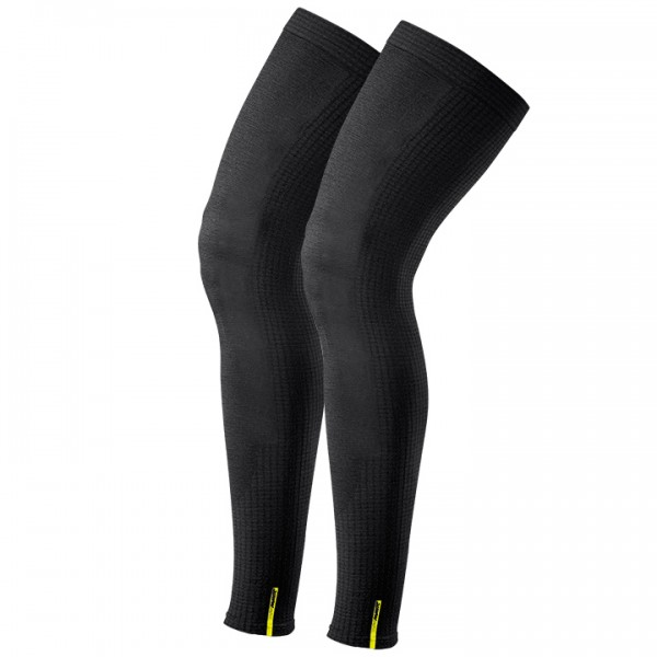 MAVIC Ksyrium Merino Leg Warmers, black-charcoal grey