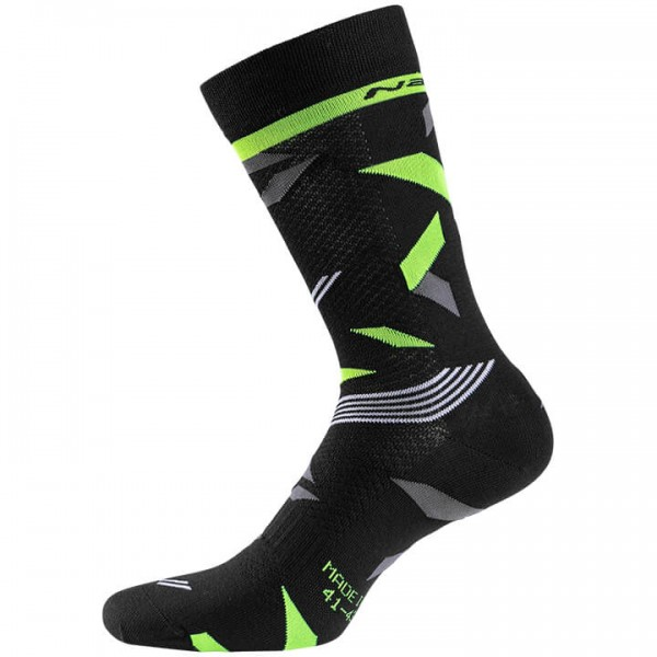 NALINI Tuono 2.0 Cycling Socks neon yellow - grey - black - multicoloured
