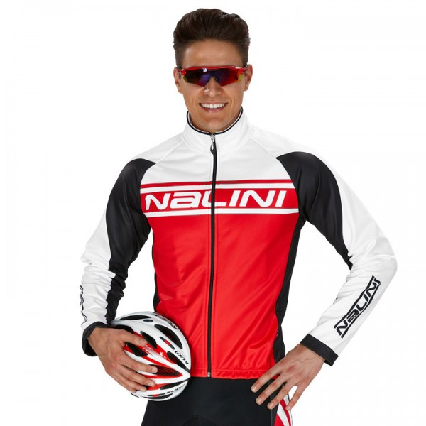NALINI PRO Vetta Winter Jacket, red-white