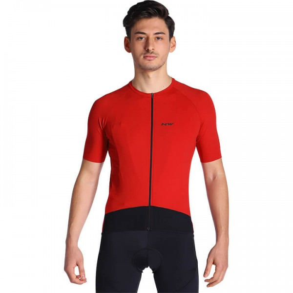 NORTHWAVE Essence Short Sleeve Jersey red