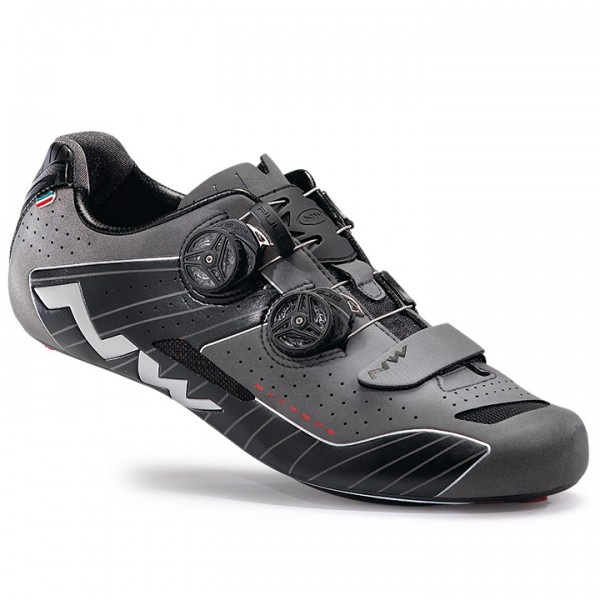 NORTHWAVE Extreme 2017 Road Shoes, black reflective