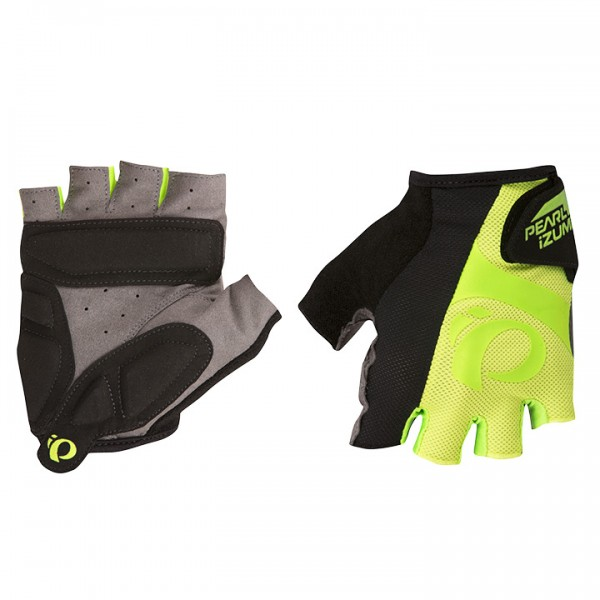 PEARL IZUMI Select Cycling Gloves, neon yellow-neon green