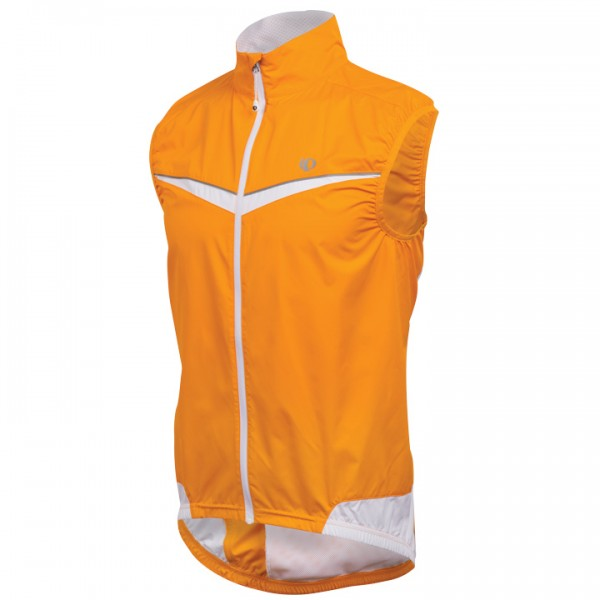 PEARL IZUMI Wind Vest Elite Barrier orange-white