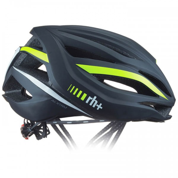rh+ Air XTRM 2019 Road Bike Helmet neon yellow - black