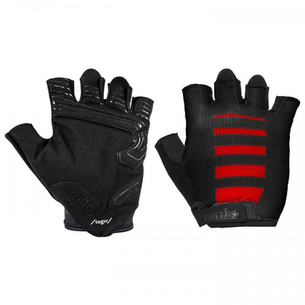 rh+ Code Gloves black - red