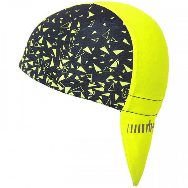 rh+ Fashion Bandana neon yellow - black