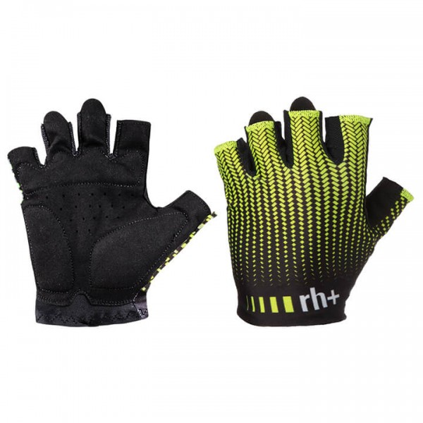 rh+ Fashion Gloves neon yellow - black