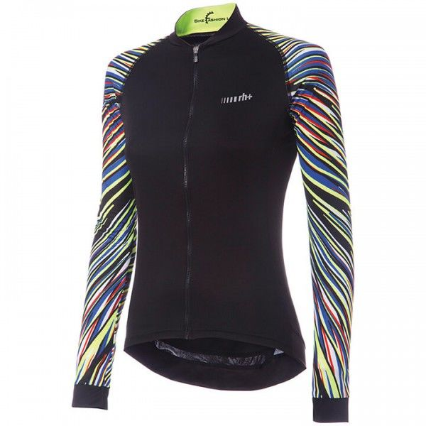 rh+ Fashion Lab Long Sleeve Jersey black - multicoloured