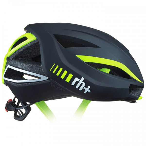 rh+ Lambo 2019 Road Bike Helmet neon yellow - black