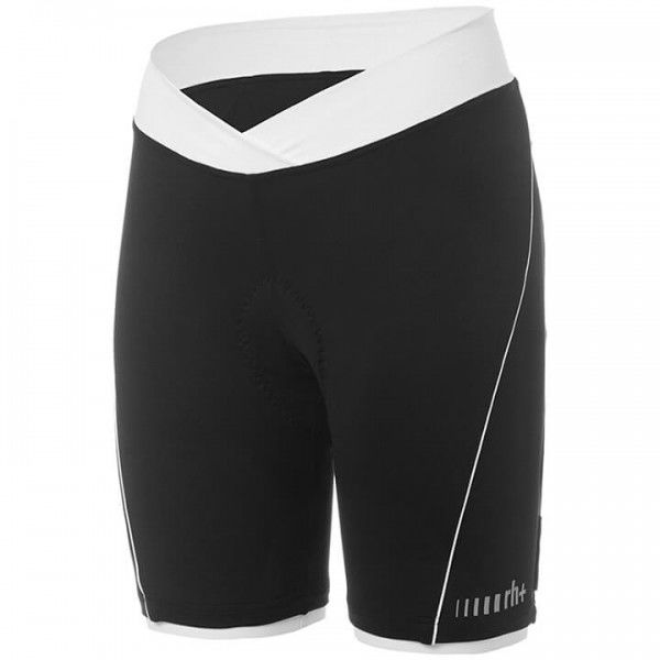rh+ Pista Cycling Tights white - black