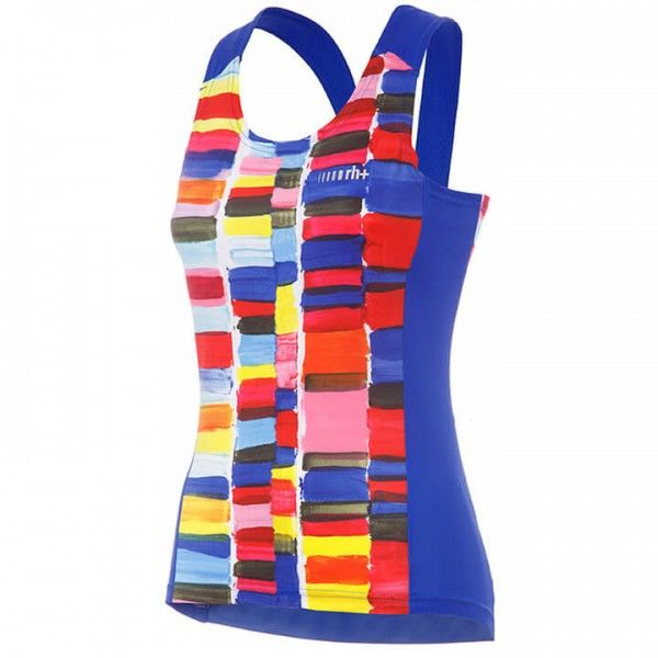rh+ Venus Cycling Tank Top blue - multicoloured