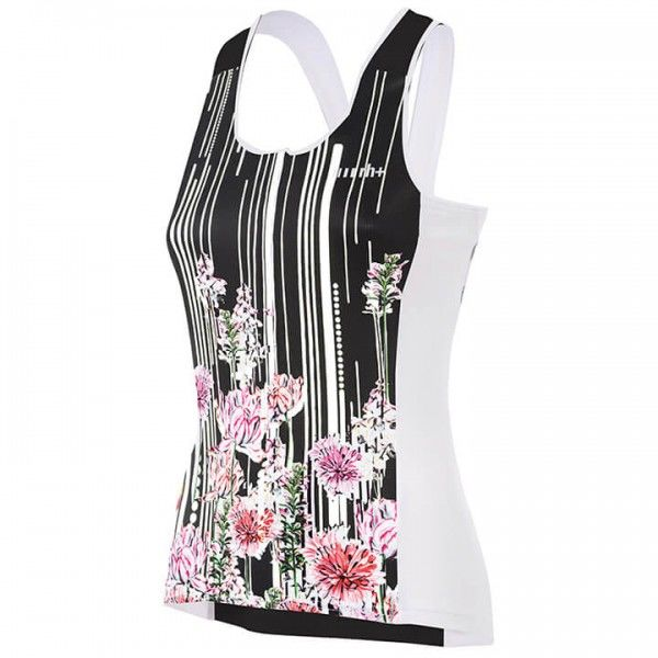 rh+ Venus Cycling Tank Top white - black - fuchsia - multicoloured
