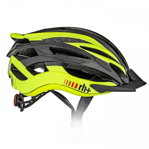 rh+ Z 2in1 2019 Road Bike Helmet neon yellow - black