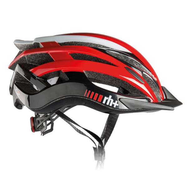 rh+ Z 2in1 2019 Road Bike Helmet white - black - red - multicoloured