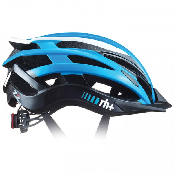 rh+ Z 2in1 2019 Road Bike Helmet white - black - blue - multicoloured