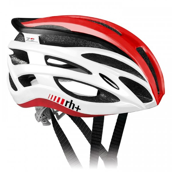 rh+ Z 2in1 2019 Road Bike Helmet white - red