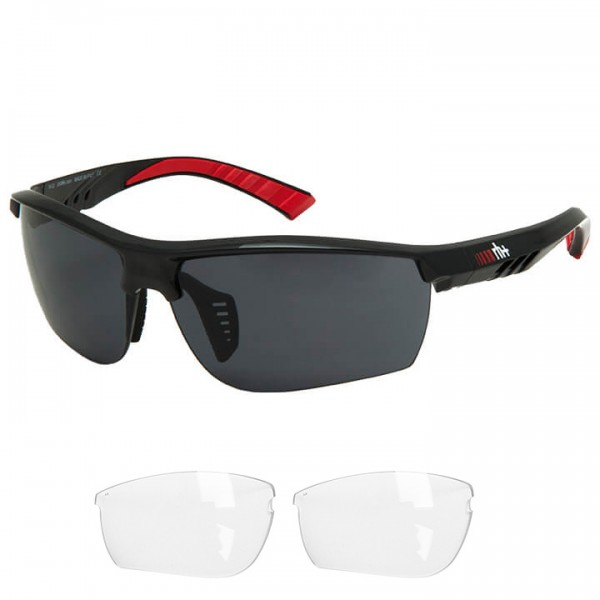 rh+ Zero 2019 Eyewear Set black - red