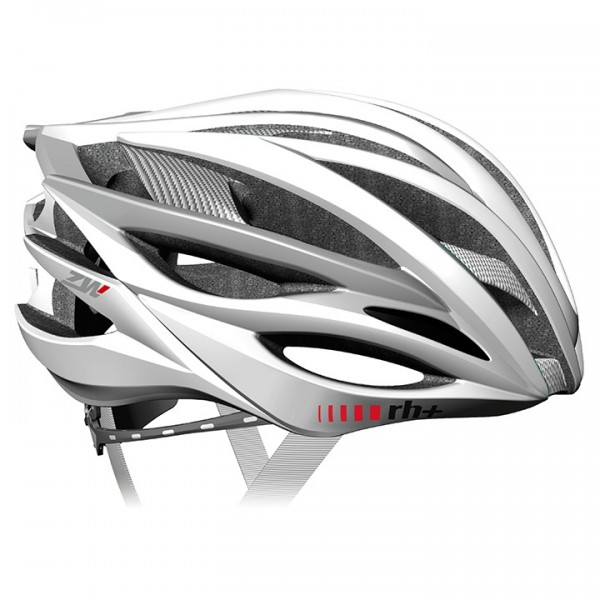 rh+ ZW 2019 Road Bike Helmet, white - silver