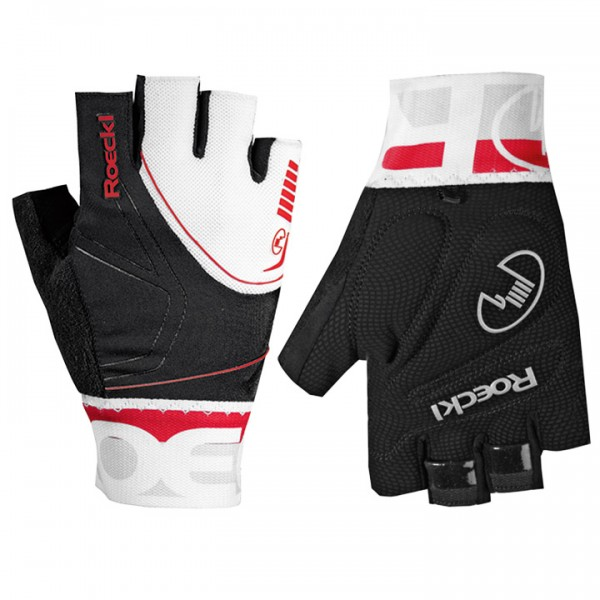ROECKL Bergamo Cycling Gloves black-white-red