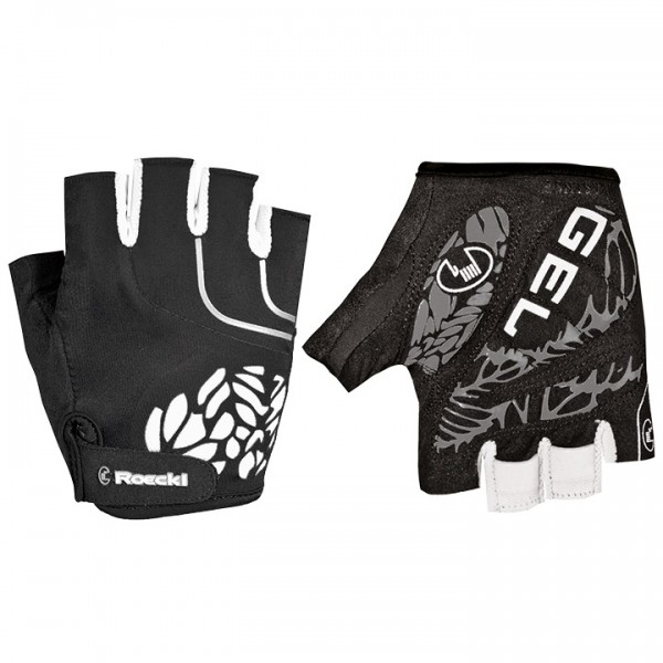 ROECKL Dossena Cycling Gloves black-white