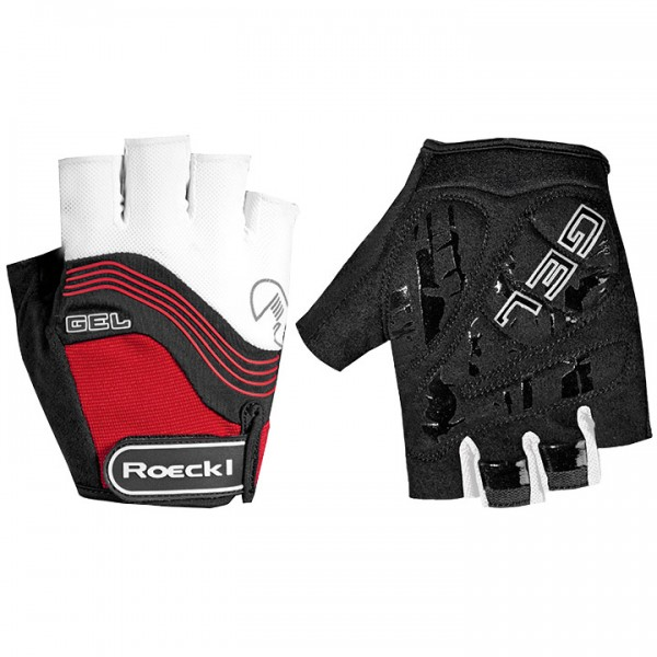 ROECKL Imajo Cycling Gloves white-red