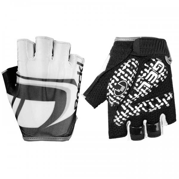 ROECKL Isawa Cycling Gloves white-black