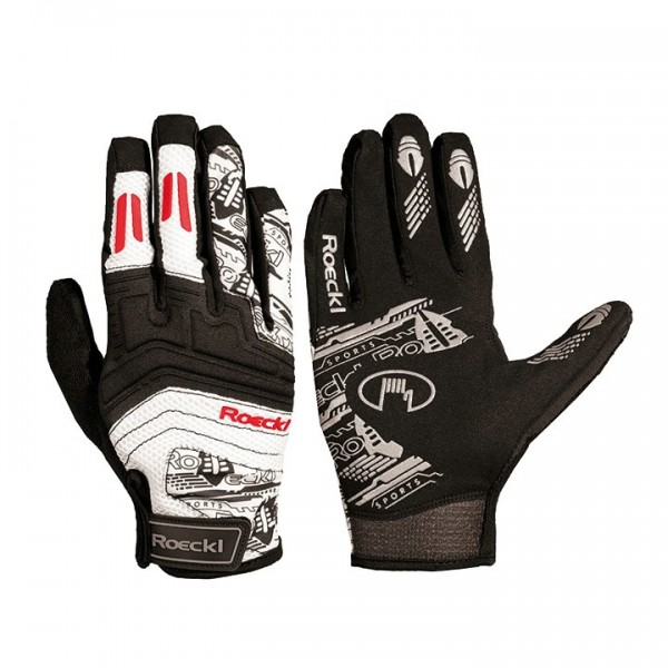 ROECKL Minden Cycling Gloves black-red