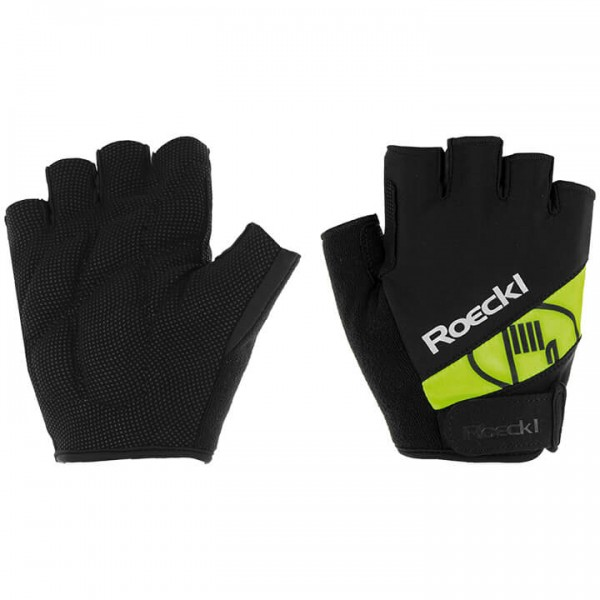 ROECKL Nizza Jr. Gloves neon yellow - black