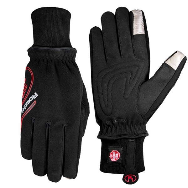 ROECKL Rebollin jr. Winter Cycling Gloves black-red
