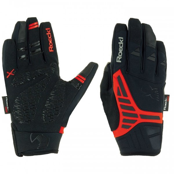 ROECKL Reintal Winter Cycling Gloves black - red