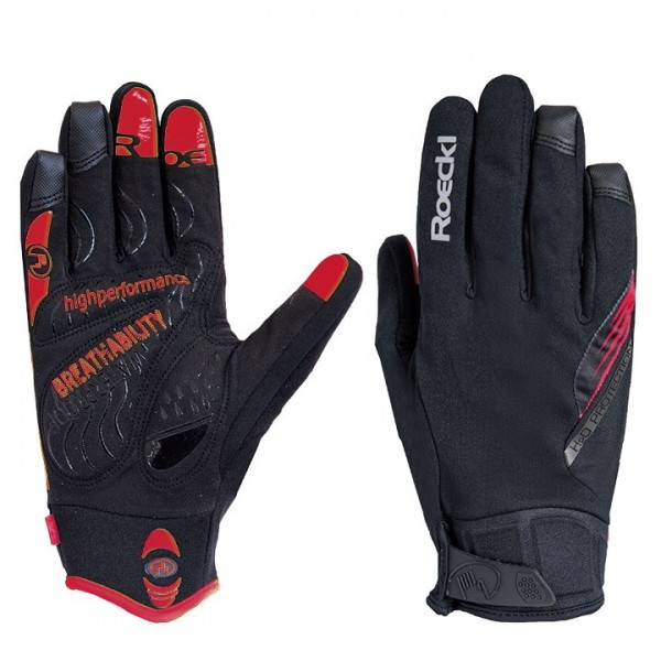 ROECKL Roden Winter Cycling Gloves black