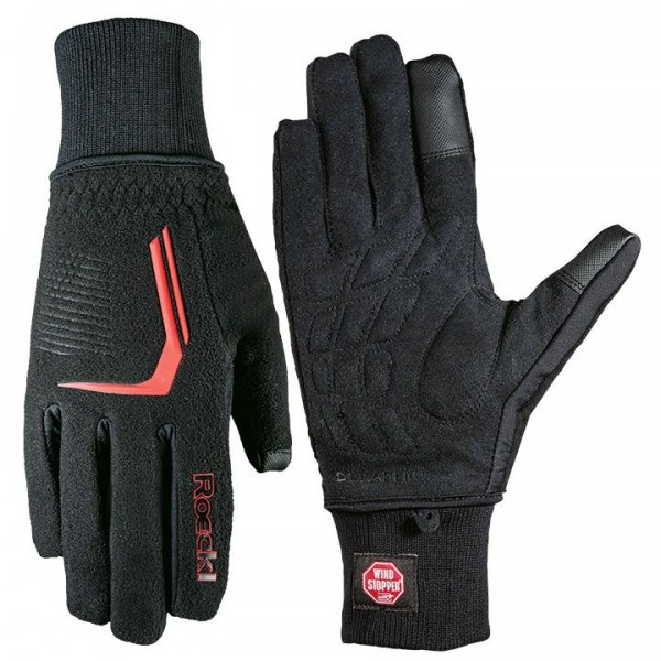 ROECKL Rosario Winter Gloves, black-red