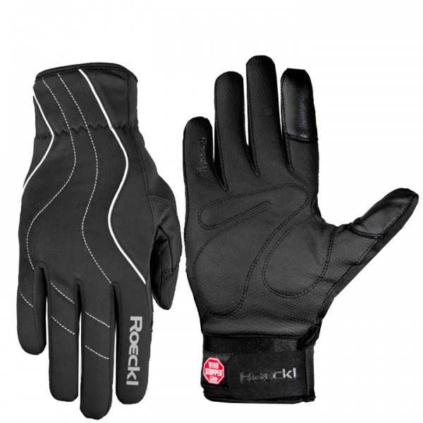 ROECKL Wavre Winter Cycling Gloves black-white