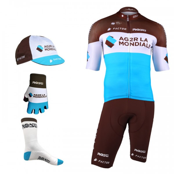 AG2R LA MONDIALE Pro Race 2018 Maxi-Set (5 pieces)