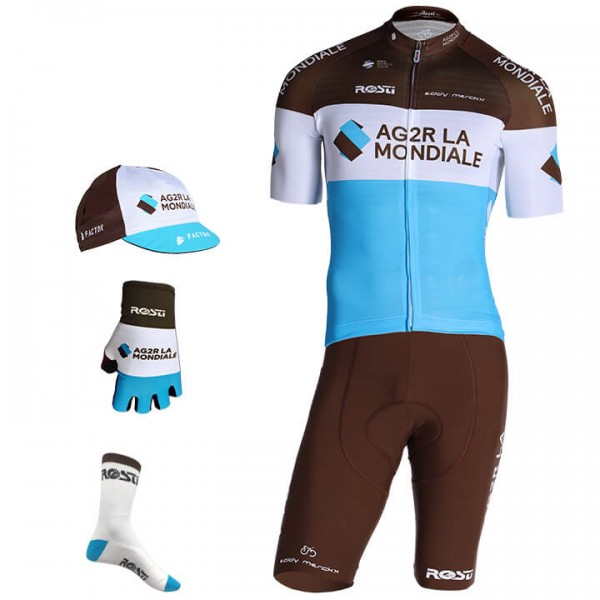 AG2R LA MONDIALE Pro Race 2019 Maxi-Set (5 pieces)