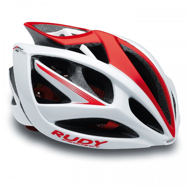 RUDY PROJECT Airstorm 2017 Cycling Helmet white-red shiny