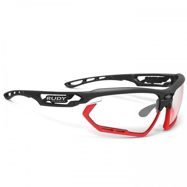 RUDY PROJECT Fotonyk ImpactX photochromic 2019 Cycling Glasses black - red