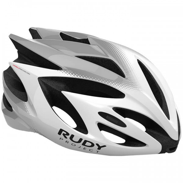RUDY PROJECT Rush 2019 Cycling Helmet white - silver