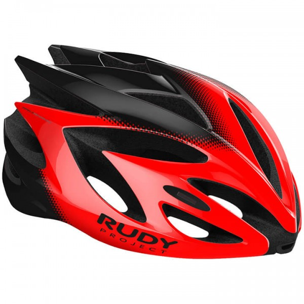 RUDY PROJECT Rush 2019 Cycling Helmet black - red