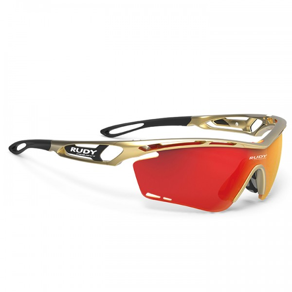 RUDY PROJECT Tralyx 2019 Cycling Glasses, gold gold