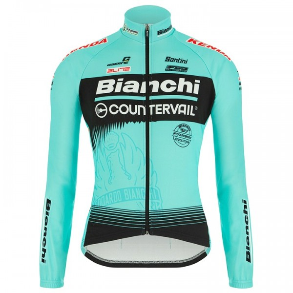 BIANCHI COUNTERVAIL 2018 Long Sleeve Jersey