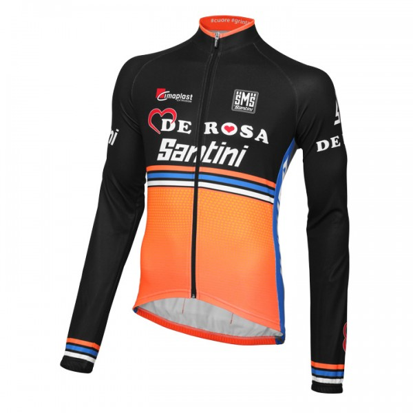 TEAM DE-ROSA SANTINI Long Sleeve Jersey 2016