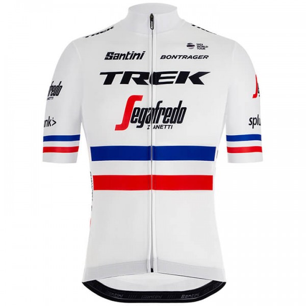 Trek-Segafredo French Champion 2019 Short Sleeve Jersey