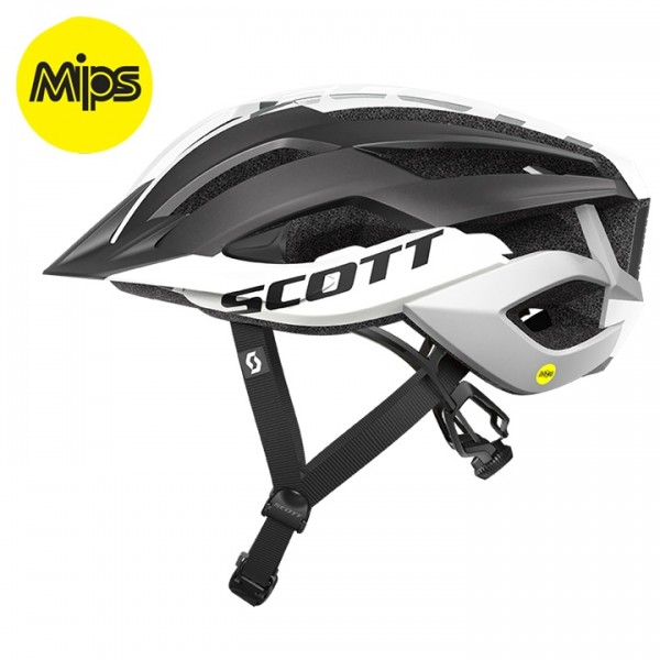 SCOTT Arx Plus 2019 MTB Helmet white - black