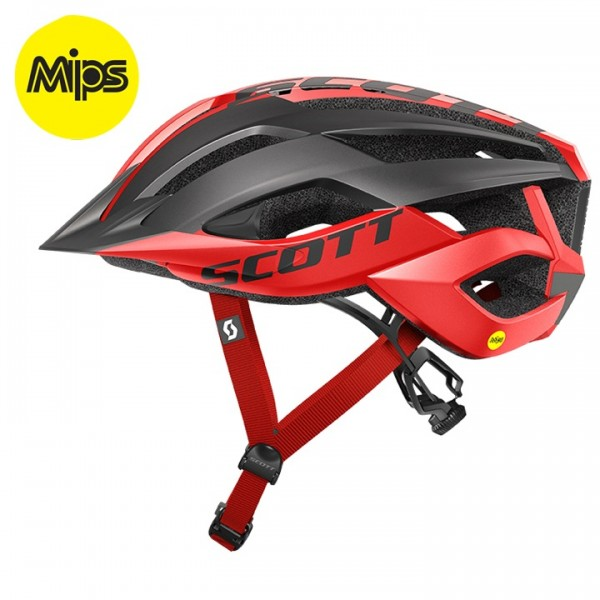 SCOTT Arx Plus 2019 MTB Helmet black - red
