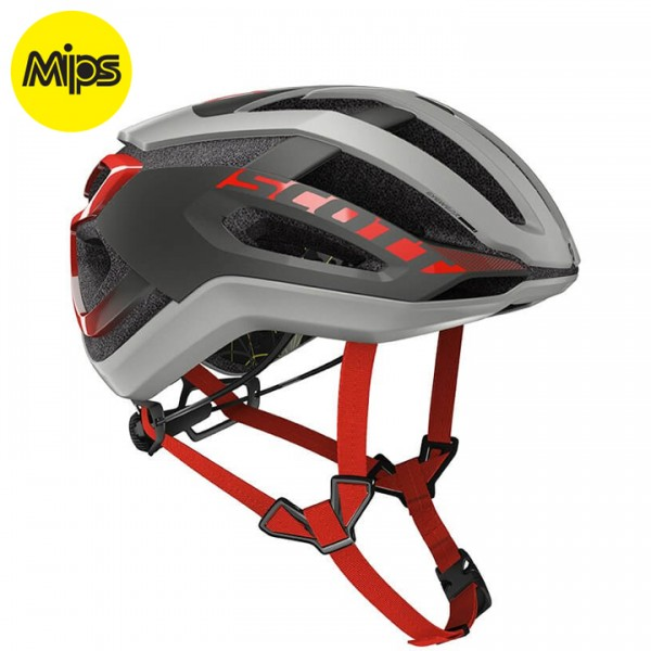 SCOTT Centric Plus 2019 Cycling Helmet grey - red