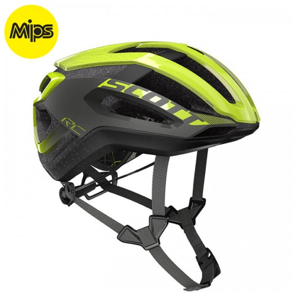 SCOTT Centric Plus 2019 Cycling Helmet neon yellow - grey